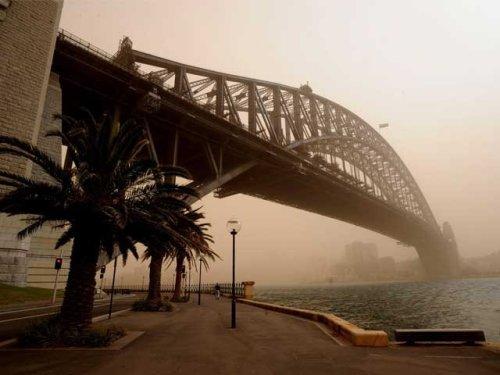 dust in australia