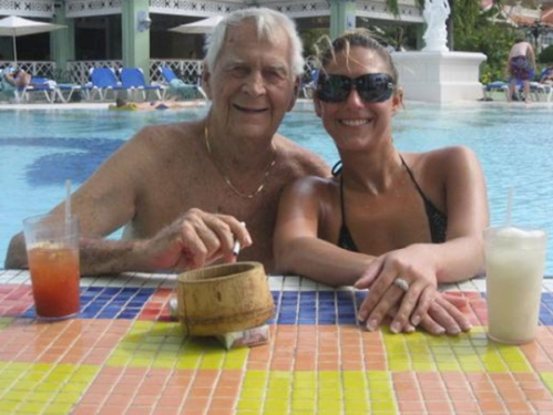 William Herchenrider, 77, and Kristina Pongracz, 29