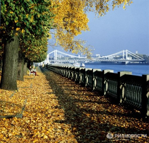 Autumn in Moscow. 1981.
