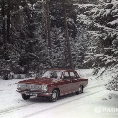 Volga car 1968