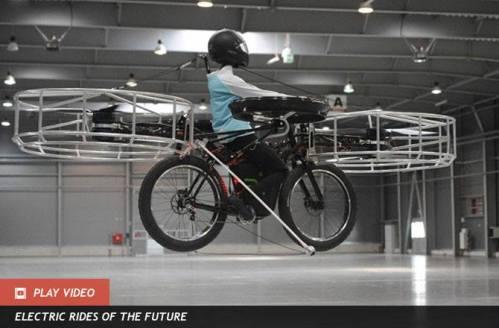 Bicicleta helicoptero