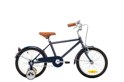 3 Bicicleta niño Vintage 16″ Azul
